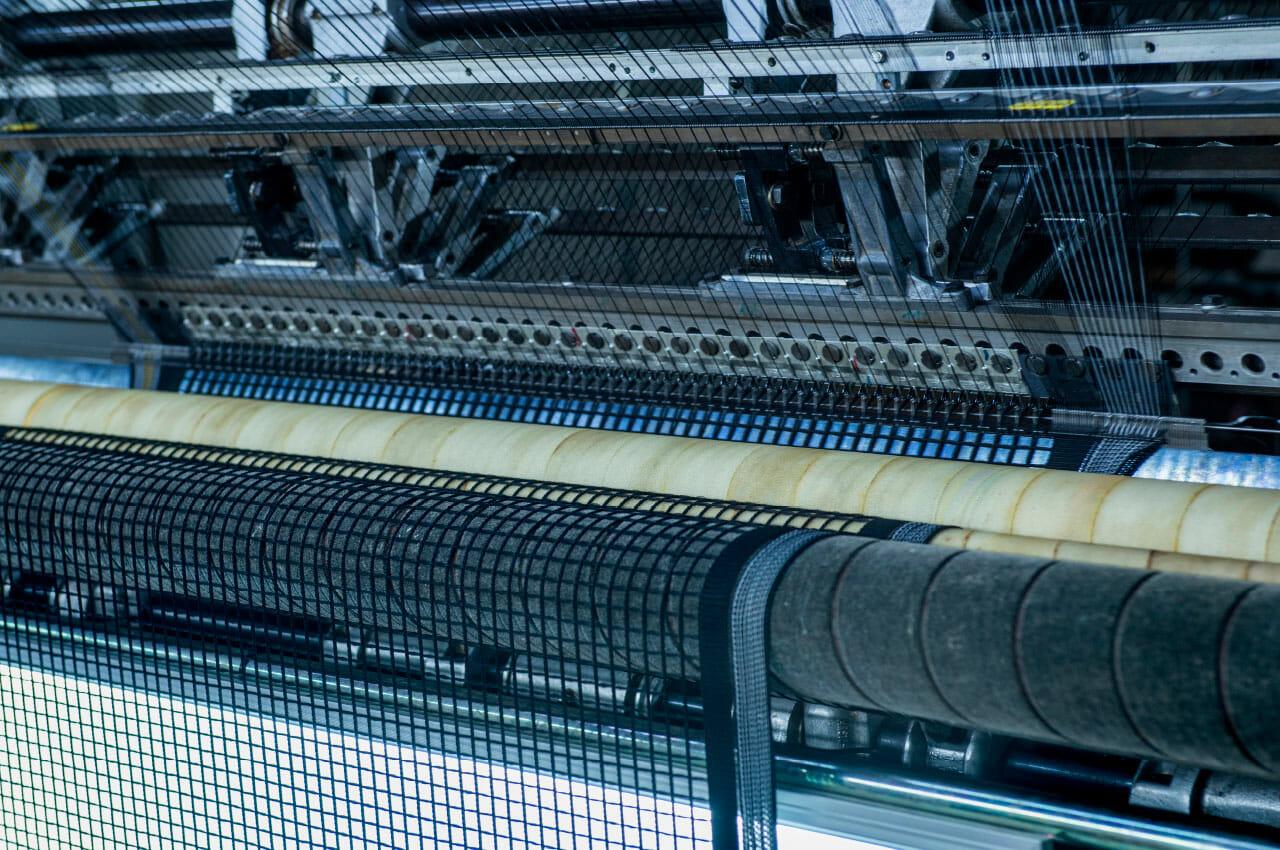 Produktion: Netze für den Automotivsektor