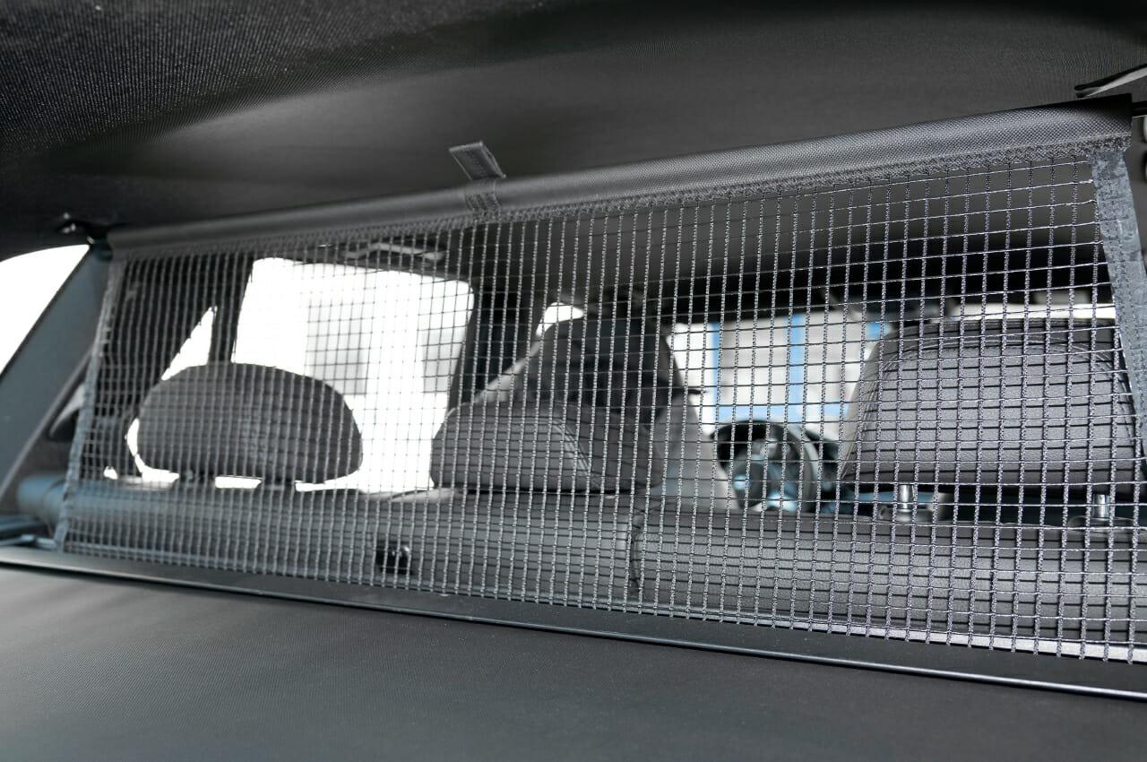 Laderaumsicherung mit Trenn-Netzen von natex